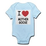 I heart mother goose Onesie