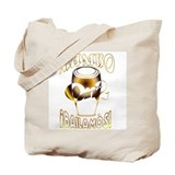 MetallicGold MambOn2Bailamos Tote Bag