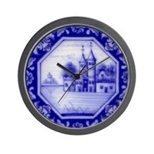 Castle Tile: Wall Clock (design 2)