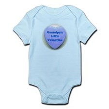 Grandpa's Little Valentine Infant Bodysuit