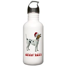 Foxhound Christmas Water Bottle