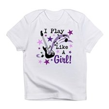Cute Guitar girls Infant T-Shirt
