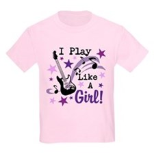 Cute Girls play guitar T-Shirt