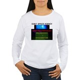 Women's Long Sleeve Dark T-Shirt-D.M.F.S.A.