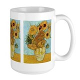 Van Gogh's Sunflowers Ceramic Mugs