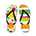 Dots and Waves Flip Flops