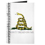 Don't Tread On Me Snake Journal
