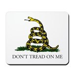 Don't Tread On Me Snake Mousepad