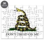 Don't Tread On Me Snake Puzzle