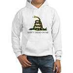 Don't Tread On Me Snake Hooded Sweatshirt