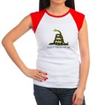 Don't Tread On Me Snake Women's Cap Sleeve T-Shirt