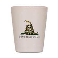 Don't Tread On Me Snake Shot Glass