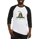 Don't Tread On Me Snake Baseball Jersey