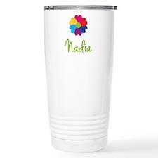 Nadia Valentine Flower Travel Mug