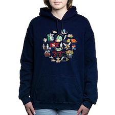 G-MEN Women's Plus Size V-Neck Dark T-Shirt