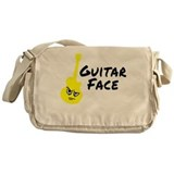 Guitar Face Messenger Bag