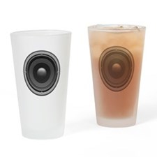 Woofer Drinking Glass