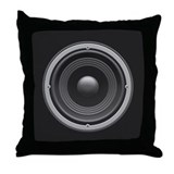 Woofer Throw Pillow