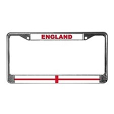 England World Flag License Plate Frame