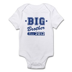 Big Brother Since 2012 Infant Bodysuit