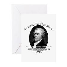 Alexander Hamilton 02 Greeting Cards (Pk of 10