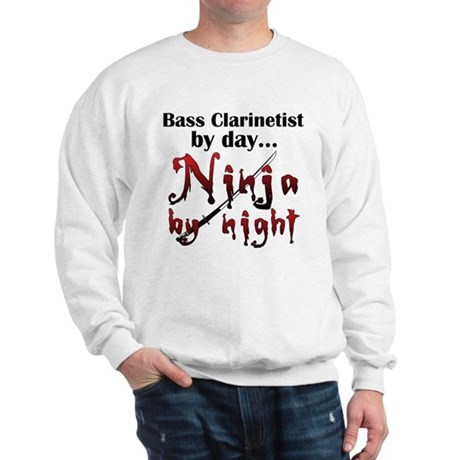 Bass Clarinet Ninja Sweatshirt