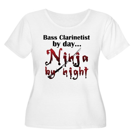 Bass Clarinet Ninja Women's Plus Size Scoop Neck T