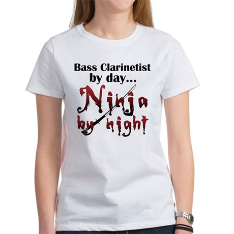 Bass Clarinet Ninja Women's T-Shirt