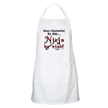 Bass Clarinet Ninja Apron