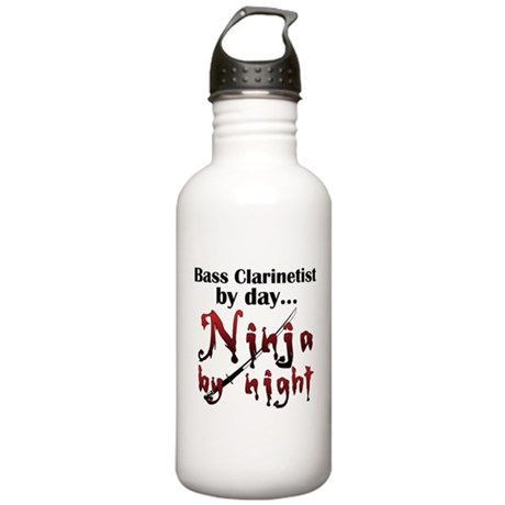 Bass Clarinet Ninja Stainless Water Bottle 1.0L