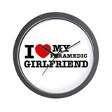 Paramedic Girlfriend Wall Clock
