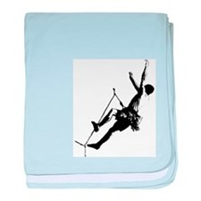 Cool Climber baby blanket