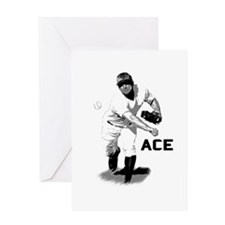 Baseball Ace Pitcher Greeting Card