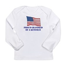 Funny Fifth army Long Sleeve Infant T-Shirt