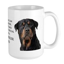 Rottie Dad Ceramic Mugs