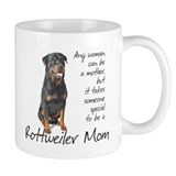 Rottweiler Mom Small Mug