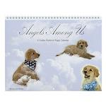 Golden Puppies & Angels Calendar