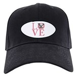 Love - Bulldog Black Cap