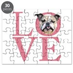 Love - Bulldog Puzzle