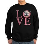 Love - Bulldog Sweatshirt (dark)
