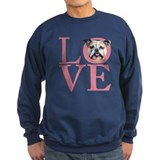 Love - Bulldog Sweatshirt