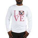 Love - Bulldog Long Sleeve T-Shirt