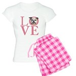 Love - Bulldog Women's Light Pajamas