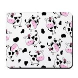 Cartoon cows Mousepad