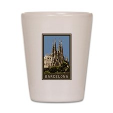 Barcelona Sagrada Familia Shot Glass