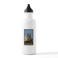 Barcelona Sagrada Familia Water Bottle