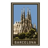 Barcelona Sagrada Familia Postcards (Package of 8)