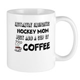 Instantly Energetic Hockey Mom