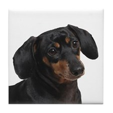 Dachshund Blessings Tile Coaster