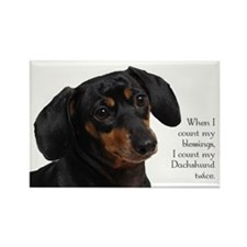 Dachshund Blessings Rectangle Magnet